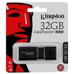 Память USB 3.0 32 GB Kingston DataTraveler 100 G3, черный (DT100G3/32GB)