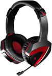 Наушники A4 Bloody G500 игровые, с микрофоном, чёрно-красный