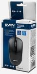 Мышь Sven RX-112, 800dpi, USB, чёрный