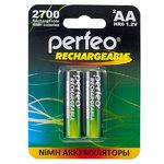 Аккумулятор тип AA Perfeo 2700mAh (2шт в блистере) AA2700mAh/2BL {1/30}