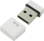 Память USB 2.0 16 GB Qumo Nano White, белый