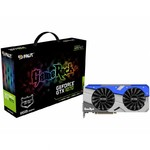 Видеокарта 8Gb PCI-Exp Palit GeForce GTX1070 GAMEROCK DDR5 (256bit) DVI/HDMI/3xDP (RTL)