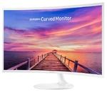 "Монитор 31.5"" Samsung C32F391FWI белый VA LED 4ms 16:9 HDMI M/M матовая 250cd 178гр/178гр 1920x1080 DisplayPort FHD"