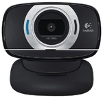 Камера Logitech HD WebCam C615, USB, чёрный (960-001056)
