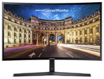 """Монитор 23.5"""" Samsung C24F396FHI черный VA LED 16:9 HDMI Mat 250cd"""