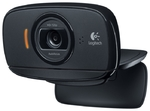 Камера Logitech HD WebCam C525, USB, чёрный (960-001064)