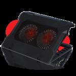 """Подставка для ноутбука охлажд. Crown CMLC-530T 17""""  D140*20мм *2шт.; LED подсветка; USB"""