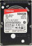 """Накопитель HDD 2.5""""  500 Gb SATA-III Toshiba L200 HDWK105UZSVA 5400rpm 8MB Slim (7mm)"""