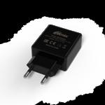 Зарядное устройство сетевое Ritmix RM-2025AC black 2хUSB
