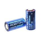 Батарейка 4LR44 - Robiton Standart R-4LR44-0-BL5 4LR44 0Hg BL5
