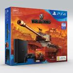 Игровая консоль Sony Playstation 4 Slim 500 GB+World of Tanks+Dualshock