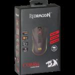 Мышь Redragon Cobra игровая, 10000dpi, подсветка, USB, чёрный