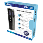 Диктофон цифровой Ritmix RR-120 8Gb черный