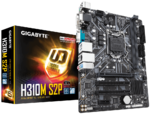 М/плата Gigabyte H310M S2P Socket1151-v2 3xPCI-E/Dsub/DVI/HDMI/2DDR4 mATX RTL