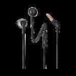 Наушники JBL T205 вкладыши, с микрофоном, чёрный