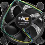 Кулер BoxIT BX-i310PWM Soc-115x 4pin 600-2500RPM 12.3-26.9dB Al 85W 154g  клипсы RTL