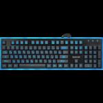 Клавиатура Redragon Dyaus игровая, мультимедиа, подсветка, USB, чёрный