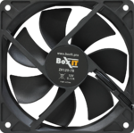 Вентилятор BoxIT 120*120*25 1300RPM 3pin + MOLEX черный ZH120-7B