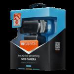 Камера Canyon CNS-CWC5, 1080P full HD, 2.0 Мп, USB, чёрный