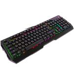 Клавиатура A4 Bloody Q135 Neon игровая, мультимедиа, подсветка, USB, чёрный