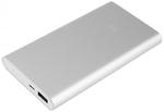 Аккумулятор внешний универсальный Xiaomi Mi Power Bank 2S 10000 mAh серебристый (PLM09ZM) (VXN4231GL)