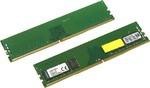 Память DIMM DDR4 16Gb PC4-19200 (2400MHz) Kingston KVR24N17S8K2/16 KIT(2x8Gb)