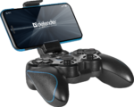 Геймпад Defender Blast беспроводной для PC, USB, Bluetooth, чёрный