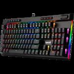 Клавиатура Redragon Vata Pro игровая, механическая, влагоустойчивая, подсветка, USB, чёрный