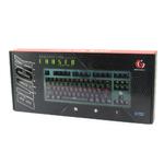 Клавиатура Gembird KB-G540L игровая, механическая, подсветка, USB, чёрный