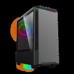 Корпус ATX GameMax T801 Paladin MGF Black без БП window USB3.0