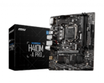 М/плата MSI H410M-A PRO Socket1200 PCI-E/HDMI/DVI/SATA/2хDDR4 mATX RTL