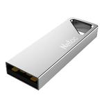Память USB 2.0 8 GB Netac U326, металл. золотистый (NT03U326N-008G-20PN)