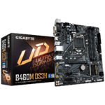 М/плата Gigabyte B460M DS3H Socket1200 PCI-E/HDMI/Dsub/DVI/4DDR4 mATX RTL