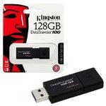 Память USB 3.0 128 GB Kingston Data Traveler 100 G3 (DT100G3/128GB)