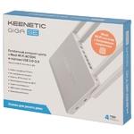 Роутер Keenetic Giga SE KN-2410 (2.4/5ГГц) 802.11aс,b,g,n ,1800 Мбит/сек, 4хLan, USB2.0, USB3.0