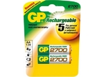 Аккумулятор тип AA GP 2700mAh (2шт в блистере) 270AAHC-UC2PET-G