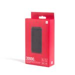 Аккумулятор внешний универсальный Xiaomi Redmi Fast Charge Power Bank 20000mAh, чёрный (VXN4304GL)