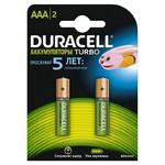 Аккумулятор Duracell AAA 850mAh (2шт) (HR03-2BL)