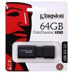 Память USB 3.0 64 GB Kingston Data Traveler 100 G3 (DT100G3/64GB)