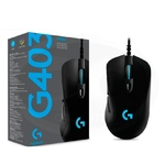 Мышь проводная Logitech Gaming Mouse G403 HERO черный