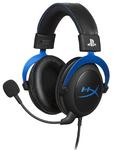 Игровая гарнитура HyperX Cloud (Black/Blue) HX-HSCLS-BL/EM