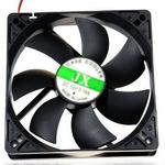 Вентилятор для корпуса DeTech DT-CF14025/B 140mm