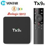 Медиаплеер Android TV Box VONTAR Tanix TX9S, Голосовой пульт
