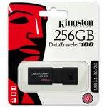 Память USB 3.0 256 GB Kingston Data Traveler 100 G3 (DT100G3/256GB)