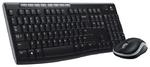 Комплект клавиатура + мышь Logitech Combo MK270 беспроводной, USB, чёрный (920-004518)