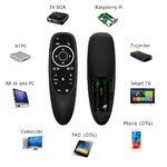 Пульт ДУ Air Mouse G10S PRO подсветка кнопок 2.4 GHz + голосовое управление + гироскопический