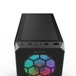 Корпус ATX Midi-Tower HIPER HG-C103RGB без БП