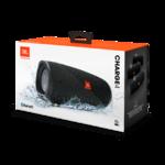Колонки портативные 2.0 JBL Charge 4 30W, Bluetooth, влагонепроницаемые, питание от аккумулятора, черный