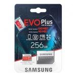 Карта памяти microSDXC [класс 10/UHS-I/U3] 256 GB Samsung EVO Plus +SD адаптер (100/90MB/s) (MB-MC256HA/RU)