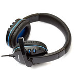 Наушники с микрофоном DeTech DT-790 BlackBlue
